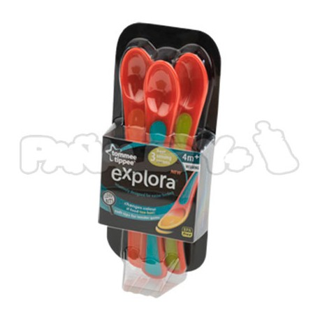 Cucharas Termosensibles Tommee Tippee Explora