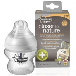 Biberón 150ml  Anti-colic Plus Tommee Tippee Closer To Nature