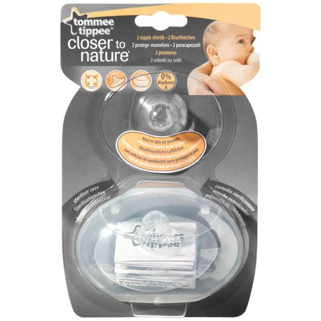 Pezoneras de Silicona Tommee Tippee Closer To Nature
