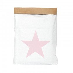 Saco Papel Mini Estrella Rosa Be-Nized Bag
