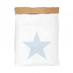 Saco Papel Mini Estrella Azul Be-Nized Bag